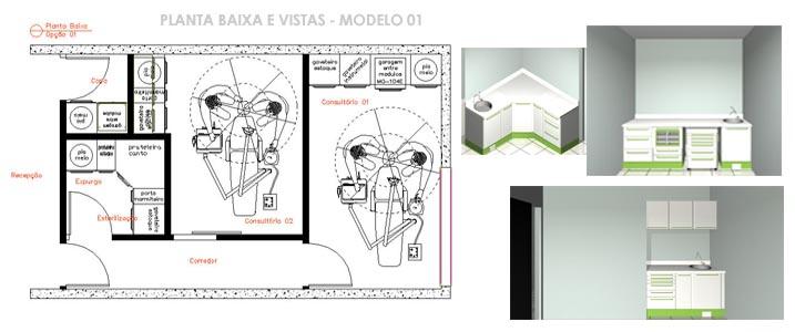 Aparador Zapatero Ikea ~ Empresa Haydee, Projetos, Consultorios Odontologicos